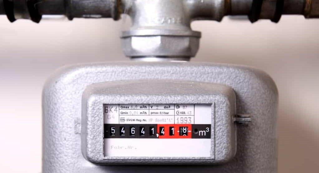 Gaszähler für Flüssiggastank zur Miete